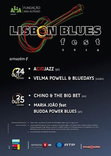 LISBON BLUES FEST | 2º EDIÇÃO |  24 E 25 DE OUTUBRO NO ARMAZÉM F