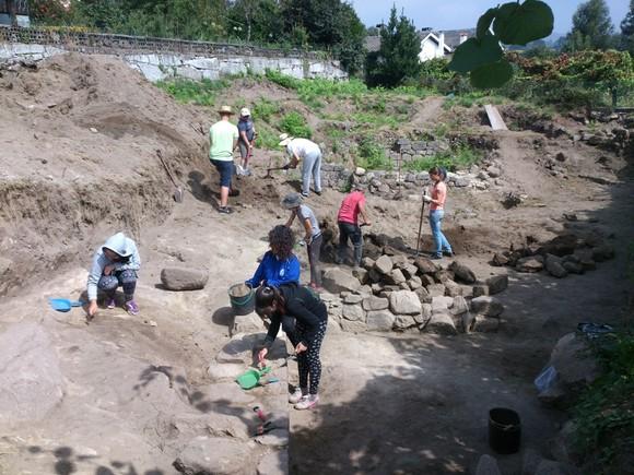 Escavacao Via Cova 1
